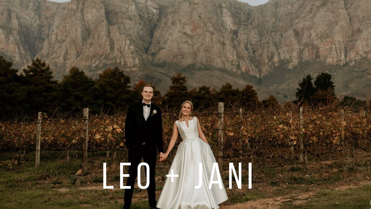 Leo + Jani | Beautiful Afrikaans Stellenbosch Wedding  | Cinematic Mode Wedding Film
