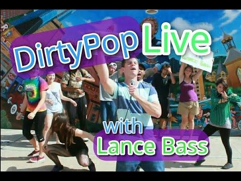 "Dirty Pop Live with Lance Bass FLASH MOB - NSYNC ""Pop"" PARODY - Austin Texas - Dielawn - SiriusXM"