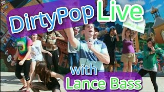 "Dirty Pop Live with Lance Bass FLASH MOB - NSYNC ""Pop"" PARODY - Austin Texas - Dielawn - SiriusXM"