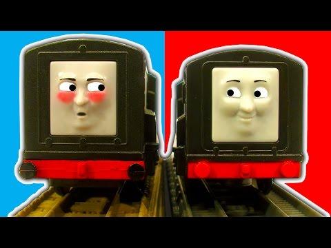 Diesel Vs Diesel Trackmaster 1 & 2 Thomas & Friends Toy Train Set Comparisons