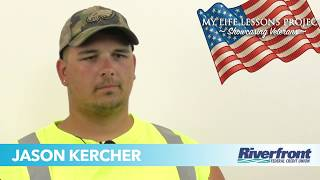 My Life Lessons Project - Showcasing Veterans - Meet Jason Kercher