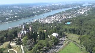 Luftbilder von Schloss Drachenburg bei Königswinter