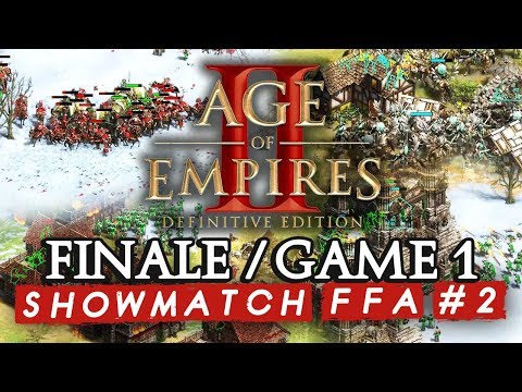 Age Of Empires II FFA #2 : Finale - Game 1 (ShowMatch 3000€ Cash Prize)