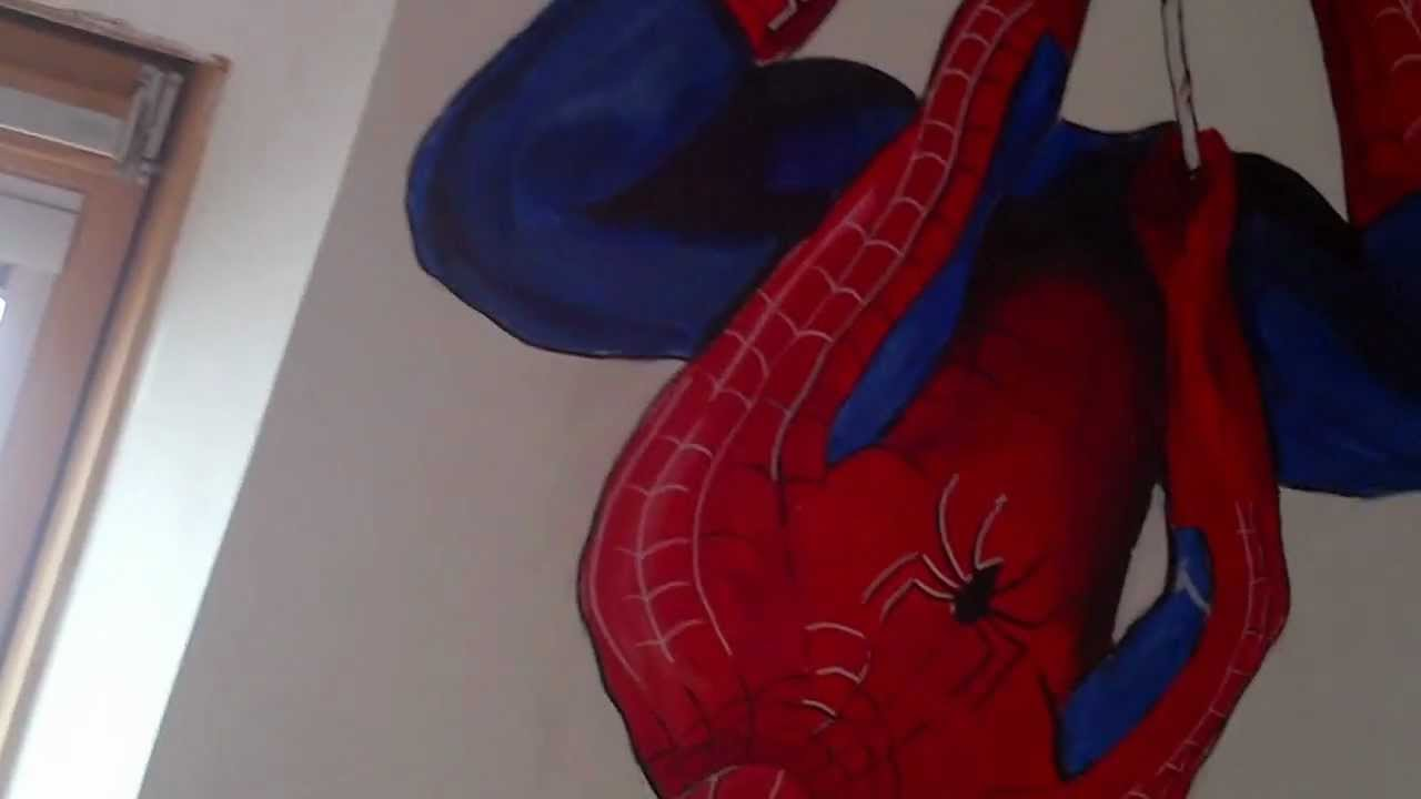 Super hero mural 2012 amazing spiderman avengers dark knight super hero mural 2012 amazing spiderman avengers dark knightbrave and bold amipublicfo Choice Image