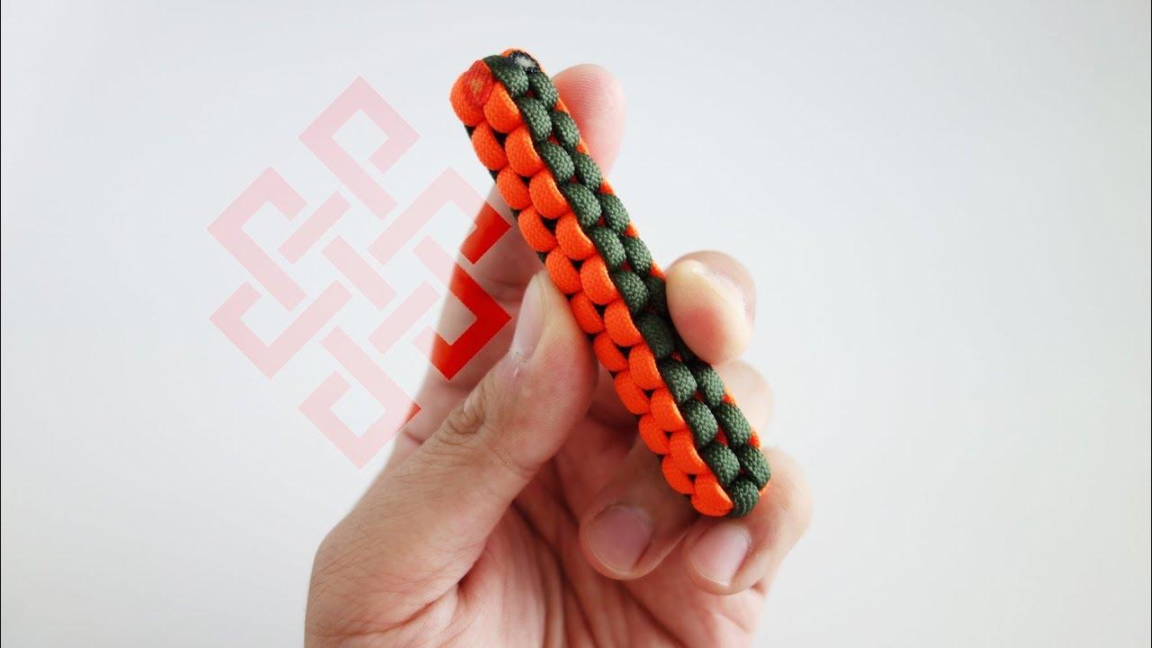 Make A DIY Paracord Fidget Stick Tutorial