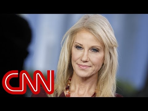 Kellyanne Conway addresses husband's Trump feud on live TV