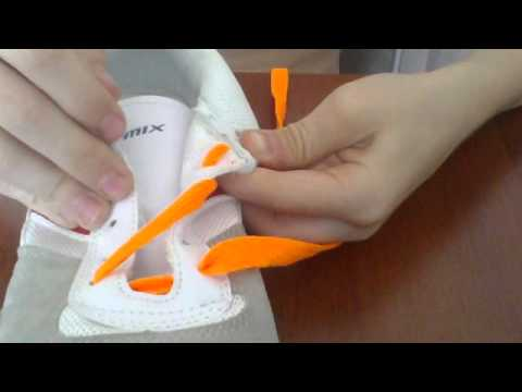 как красиво зашнуровать кроссовки - YouTube