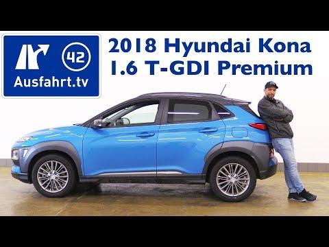 2018 Hyundai Kona 1.6 T-GDI Premium 4WD - Kaufberatung, Test, Review