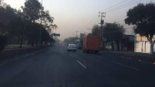 Niebla y contaminación CDMX. 6 Enero 2017   www.edemx.com