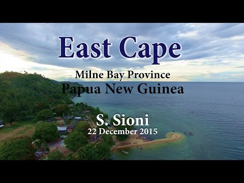 East Cape, Milne Bay Province, Papua New Guinea (The eastern-most tip of the island of New Guinea)