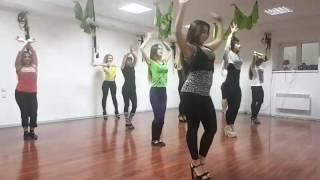 Тренировка по стрип пластике DIVAS Харьков - Часть 1