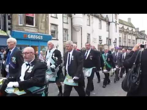 Masonic March 300th Anniversary, Peebles.