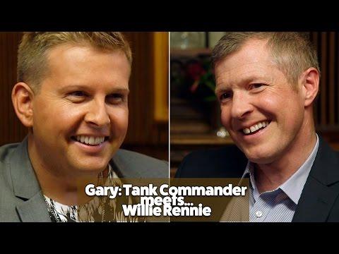 Gary: Tank Commander meets Willie Rennie