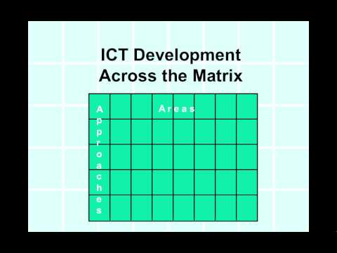 Information & Communication Technology (ICT) Matrix