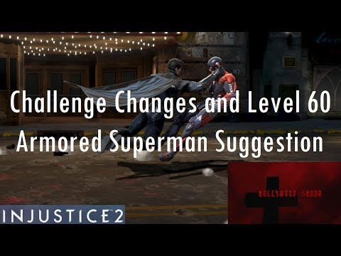 Injustice 2 Mobile: ARMORED SUPERMAN Gameplay & Super Move