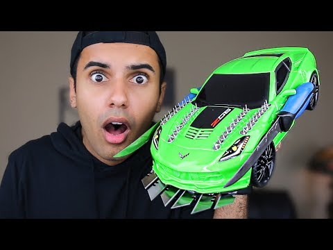MOST DANGEROUS RC / HOT WHEELS CARS MOD OF ALL TIME!!! (EXTREME REMOTE CARS!!)