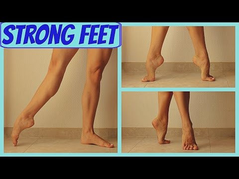 Follow-Along for Strong Feet, Stability, a High Demi Pointe for Dancers