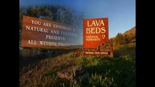 You Are Here, Lava Beds National Monument