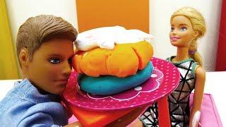 Барби готовит Кевину ужин - Мультики Барби для девочек