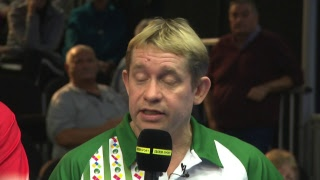 Just. 2019 World  Ndoor Bowls Championships Day 11 Session 2