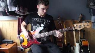 The Four Tops - Standing in the Shadows of Love (Bass Cover)