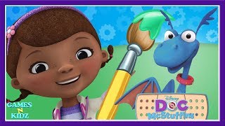 Doc McStuffins 3D Color & Play Doc's Toy Check Up Room - Disney Junior Game For Kids