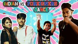 Indian Dance vs. Foreigners Dance | BKLOL AddA