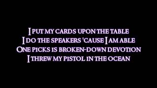 Red Hot Chili Peppers - Save the Population [Lyrics video]