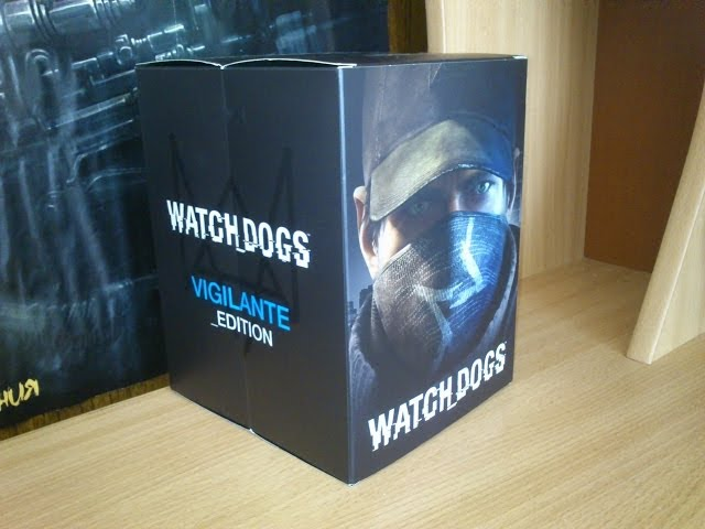 Watch_Dogs Unboxing - Vigilante Edition