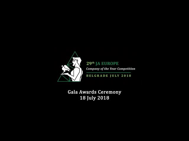 Company of the Year Competition 2018 - Gala Awards Ceremony