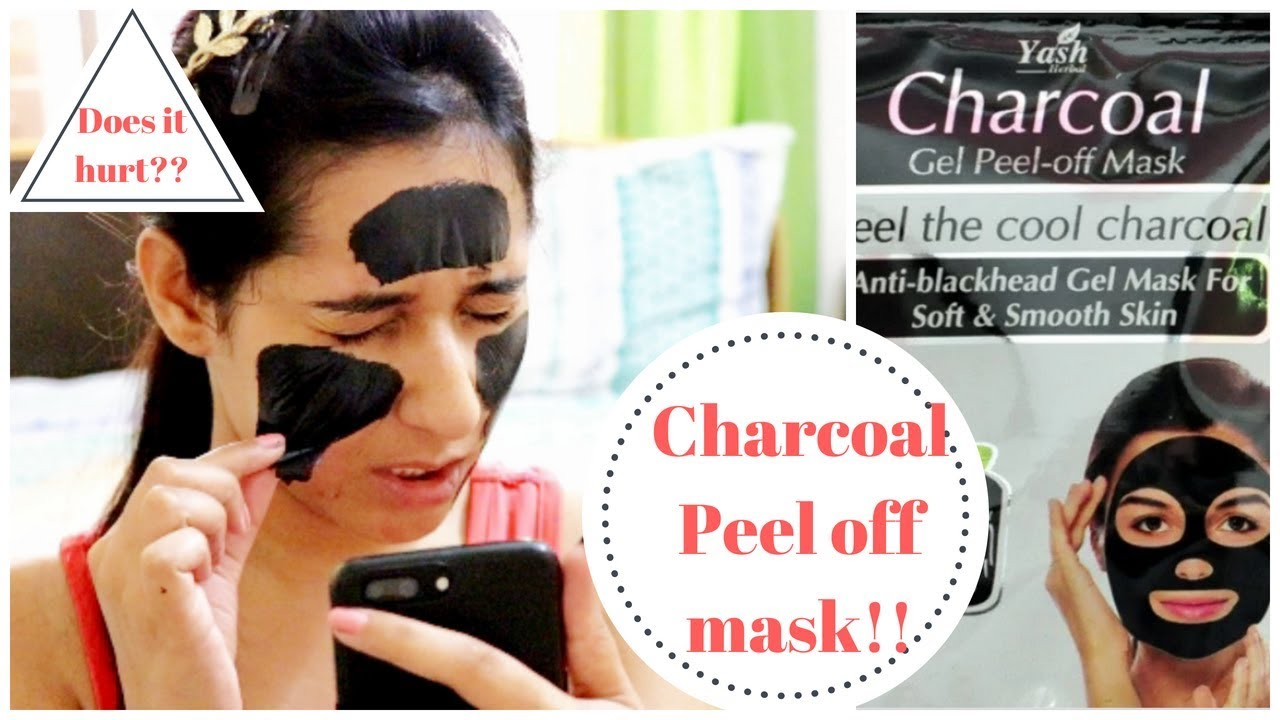 how to use yash herbal charcoal mask