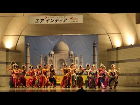 Namaste India - Japanese actor performing traditional Classical Dance
