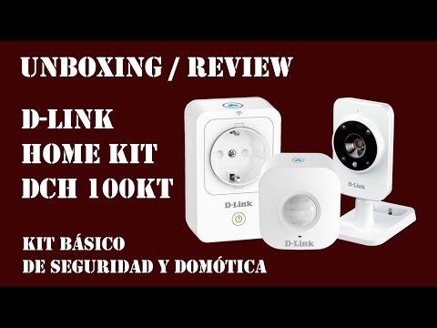 UNBOXING-REVIEW – Kit de seguridad y domótica D-Link Home Kit DCH 100KT