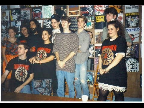 SOUNDGARDEN in-store at YESTERDAY & TODAY RECORDS / Miami -12-31-1991