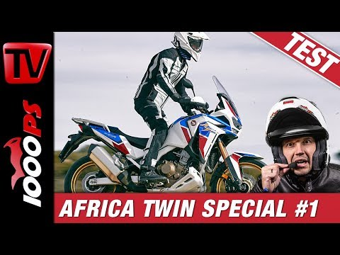 Honda AfricaTwin Adventure Sports 2020 Test - Folge 1/4 - Neues CRF1100L Modell, Strategie, Features