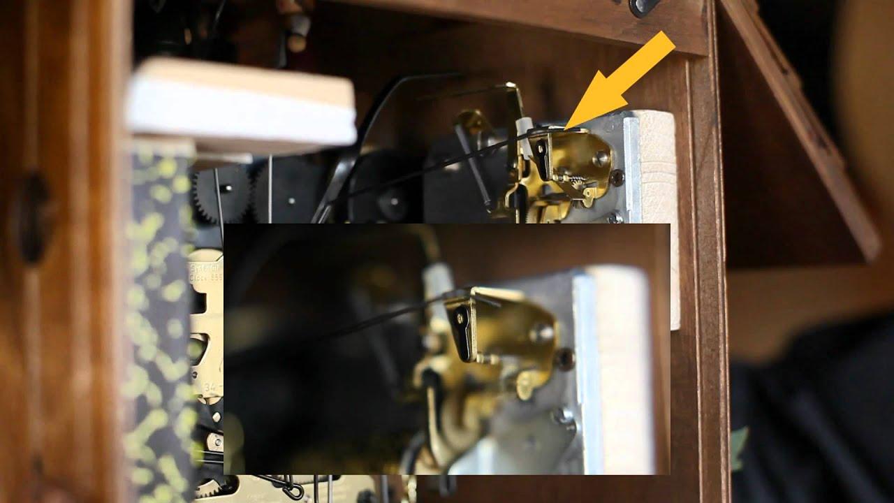 fran ais troubleshoot la musique de votre horloge coucou for t noire original ne marche. Black Bedroom Furniture Sets. Home Design Ideas