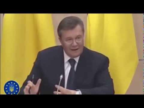 Янукович в \