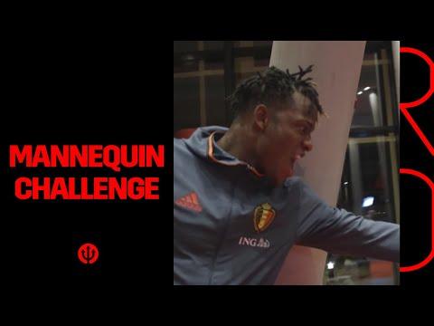 Mannequin challenge Belgian Red Devils