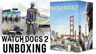 Распаковка: Watch Dogs 2. Коллекционное издание «Сан-Франциско»