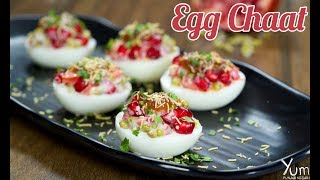Egg Chaat | Egg Chaat Recipe | How to Make Egg Chaat