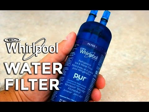 How To Change Whirlpool Refrigerator Water Filter
