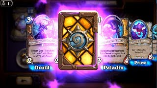 Mossy Horror and Bellringer Sentry - The Witchwood Hearthstone epic and rare card pack opening