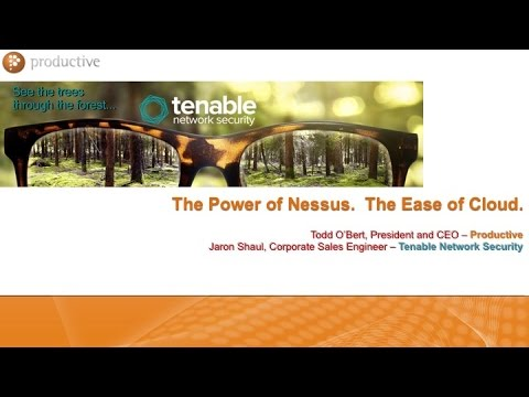 Nessus Cloud by Tenable Network Security - Webinar