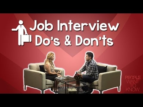 job interview tips dos and donts for a successful first impression jessicadomingueztv youtube