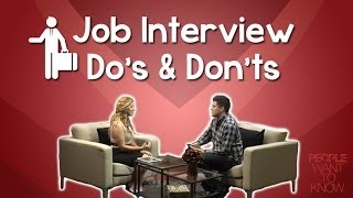 Job Interview Tips: Do's and don'ts for a successful first impression -- JessicaDominguezTV
