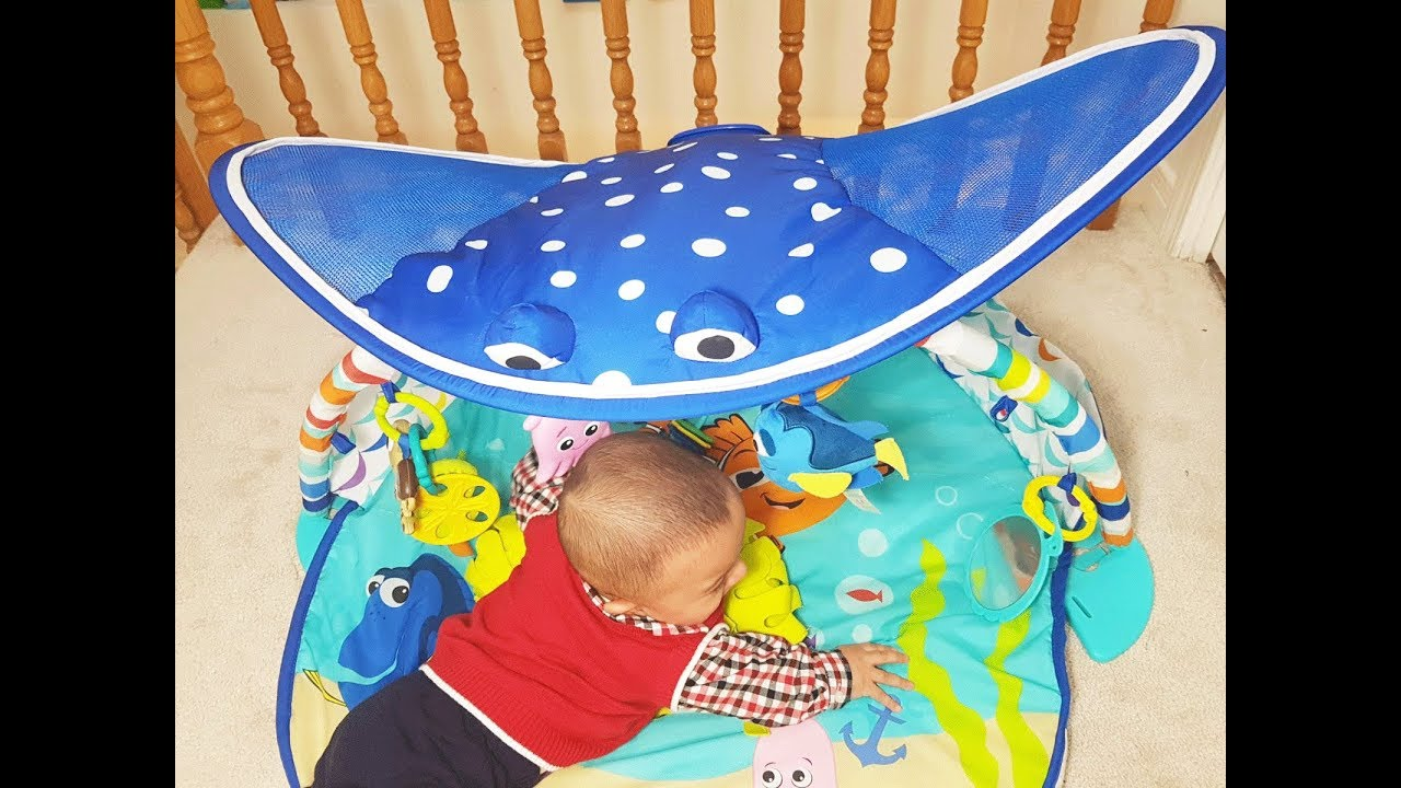 Disney Baby Mr Ray Ocean Lights Activity Gym With Dory