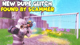*NEW* INSANE DUPE GLITCH FOUND BY SCAMMER! 😱😱 (Scammer Gets Scammed) Fortnite Save The World