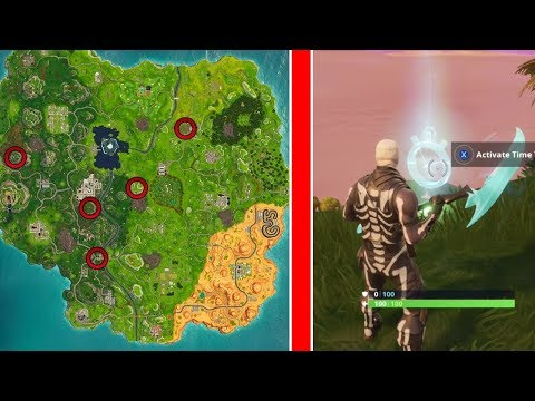 COMPLETE TIMED TRIALS FORTNITE CHALLENGE | 3 TIMED TRIAL SPOTS | WEEK 3  CHALLENGES