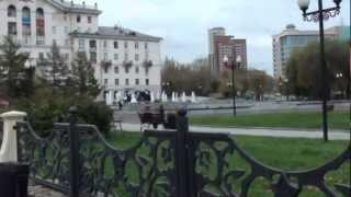 Первые достопримечательности Перми(По дороге от ж/д вокзала к автобусной остановке мы проходили мимо этих достопримечательностей Перми., 2012-10-17T14:47:01.000Z)