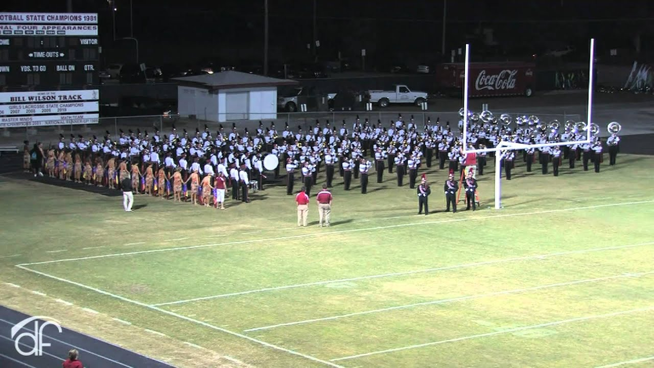 Vero Beach High School Marching Band Crown Jewel 2010 Amazing Grace